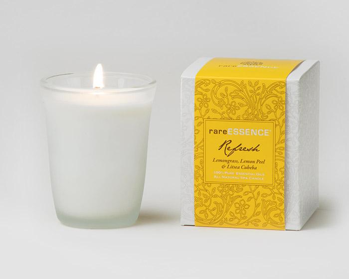 rareEARTH Naturals Spa Candle Refresh