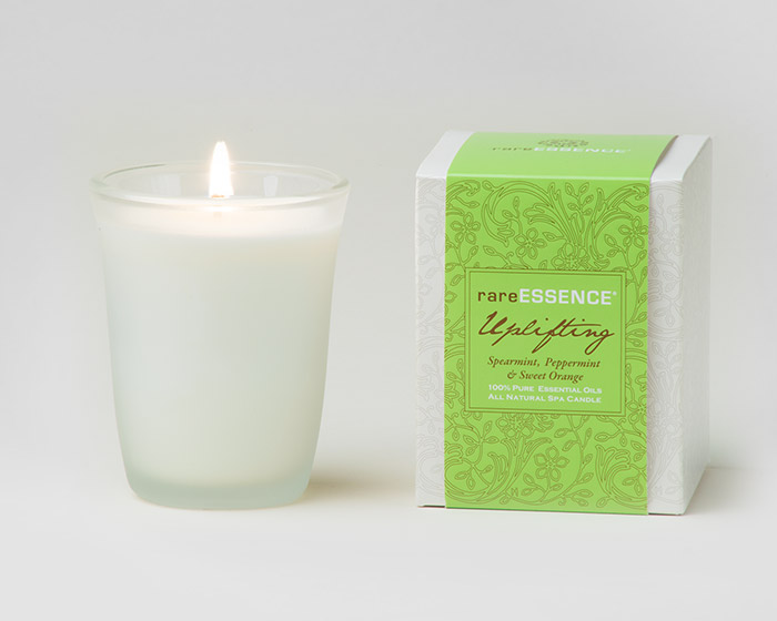 rareEARTH Naturals Spa Candle Uplifting