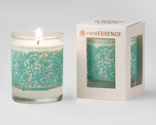 rareEARTH Naturals Spa Votive Candle Clarity