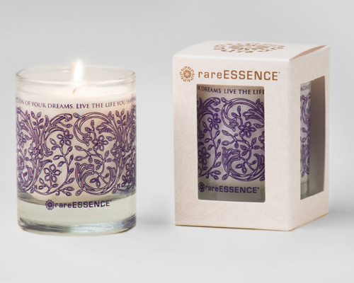 rareEARTH Naturals Spa Votive Candle Dream