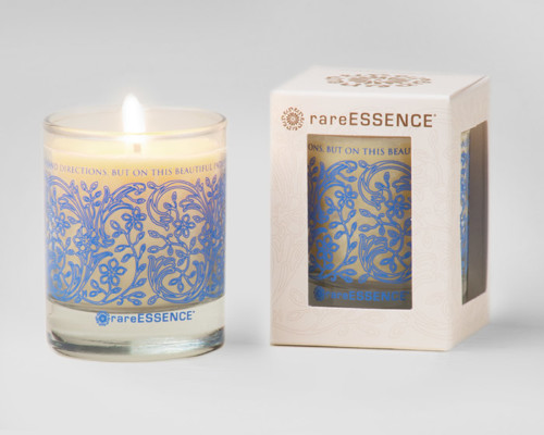 rareEARTH Naturals Spa Votive Candle Peace