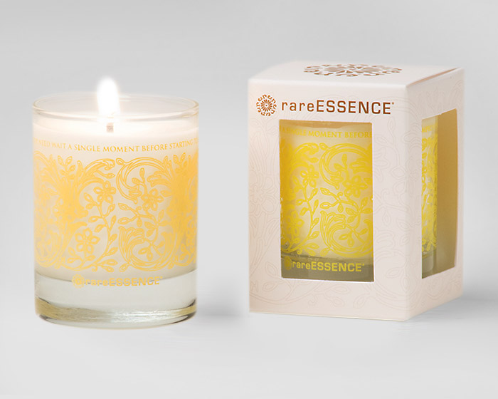 rareEARTH Naturals Spa Votive Candle Refresh