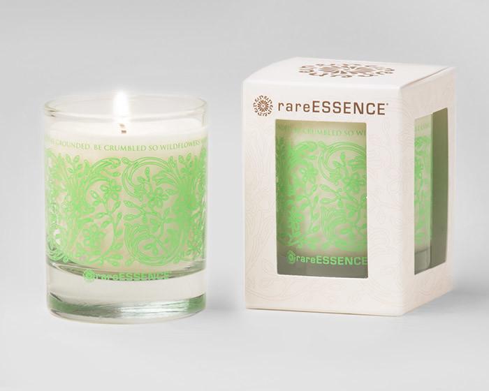 rareEARTH Naturals Spa Votive Candle Uplifting