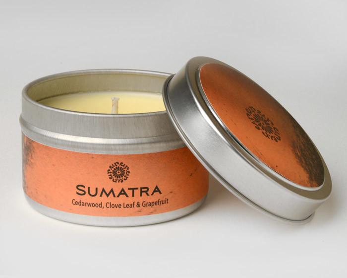 rareEARTH Naturals Candle Tins Sumatra