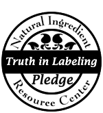 rareEARTH Naturals Natural Ingredient Resource Center Truth in Labeling Pledge