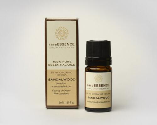 rareESSENCE Essential Oil Sandalwood 3% Jojoba