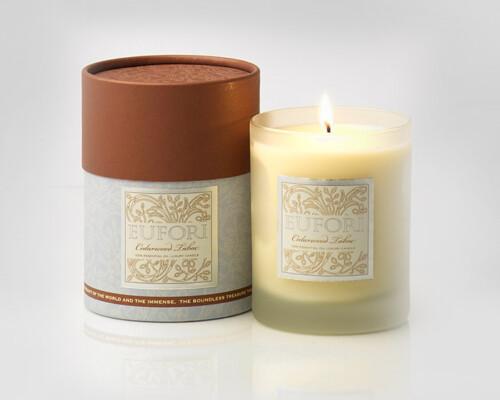 Eufori Candle - Cedarwood Tabac