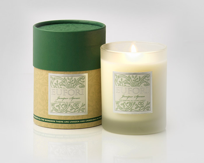 Eufori Candle - Juniper Spruce