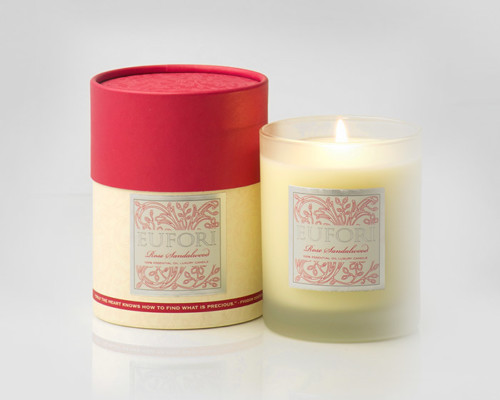Eufori Candle - Rose Sandalwood