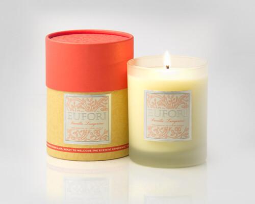 Eufori Candle - Vanilla Tangerine